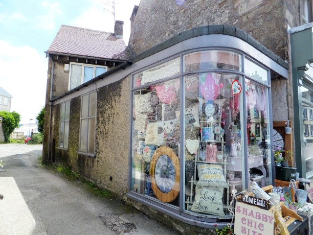 Shop with living accommodation for sale in Buxton town centre
